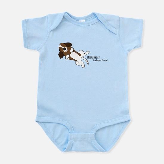 Basset Love Infant Bodysuit