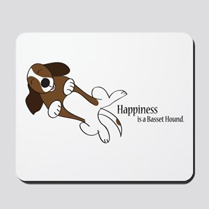 Basset Love Mousepad