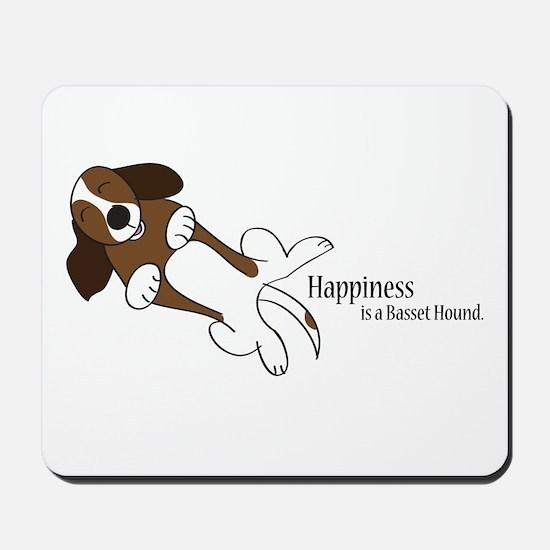 Basset Love Mousepad
