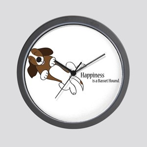 Basset Love Wall Clock