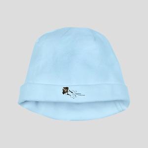 Basset Love baby hat