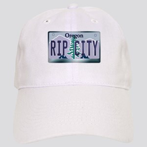 """RIP CITY"" Oregon License Plate Cap"