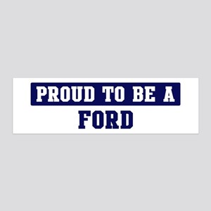 Proud to be Ford 36x11 Wall Peel