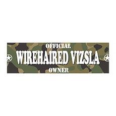 WIREHAIRED VIZSLA 36x11 Wall Peel