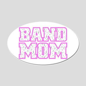 Varsity Band Mom 20x12 Oval Wall Peel