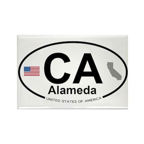 Alameda Rectangle Magnet (100 pack)