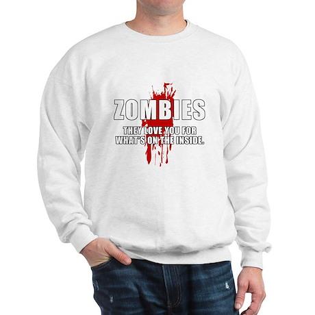 Zombie Humor (Love) Sweatshirt