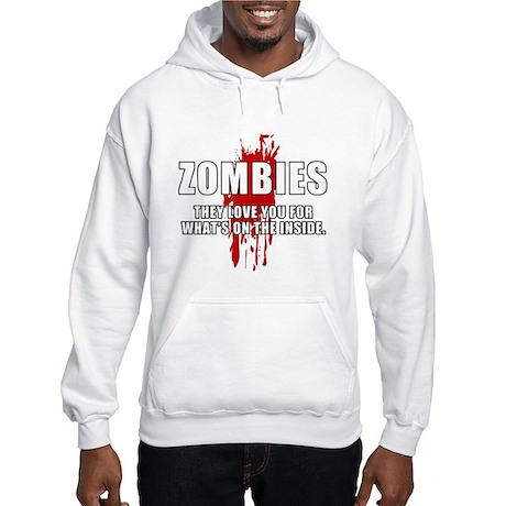 Zombie Humor (Love) Hooded Sweatshirt