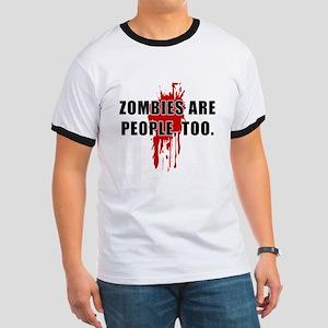 Zombie Humor (People) Ringer T