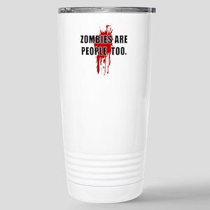 Zombie Humor (People) Stainless Steel Travel Mug