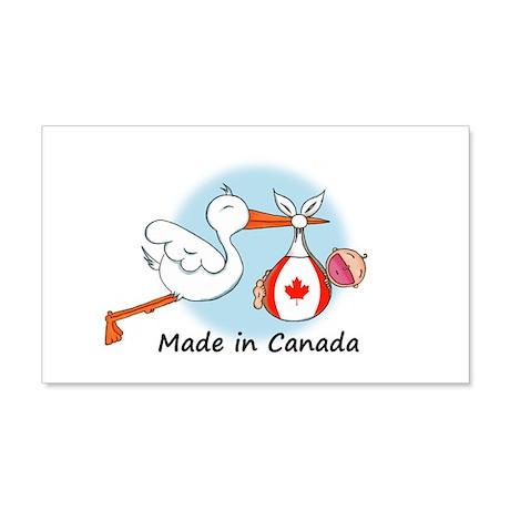 Stork Baby Canada 20x12 Wall Peel