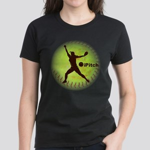 iPitch Fastpitch Softball Women's Dark T-Shirt