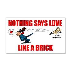 "Krazy Kat ""Nothing Says Love 20x12 Wall Peel"