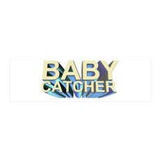 Baby catcher - for midwives - 36x11 Wall Peel