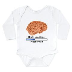 Brain Loading Long Sleeve Infant Bodysuit