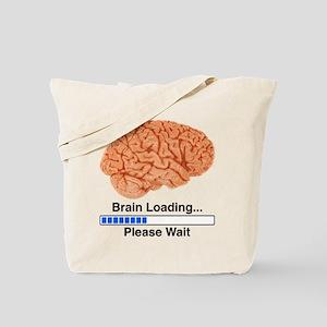 Brain Loading Tote Bag