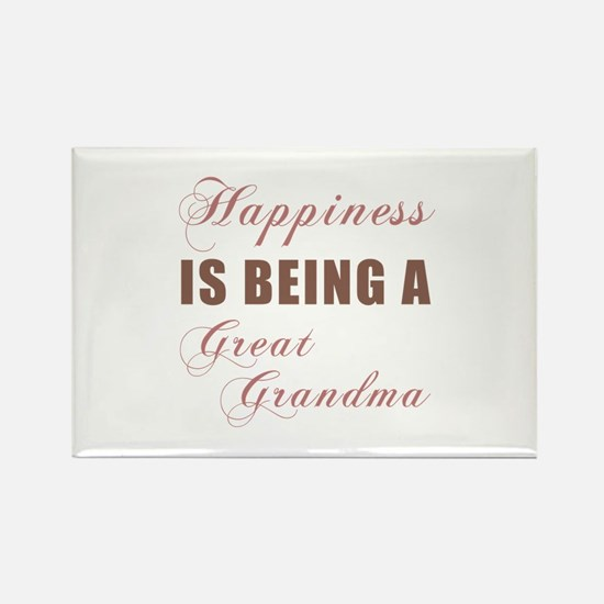 Great Grandma (Happiness) Rectangle Magnet