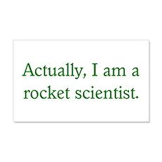 Rocket Scientist 20x12 Wall Peel