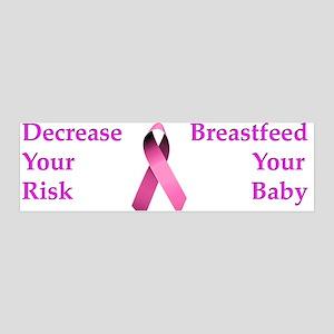 Breast Cancer Awareness 36x11 Wall Peel