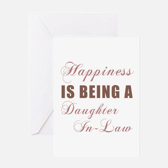 Daughter-In-Law (Happiness) Greeting Card