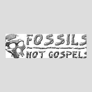 Fossils Not Gospels 36x11 Wall Peel