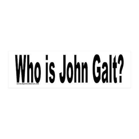Who is John Galt? 20x6 Wall Peel