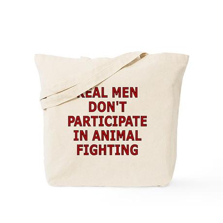 Real men don't Tote Bag