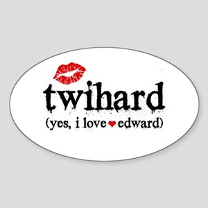 TwiHard Sticker (Oval)