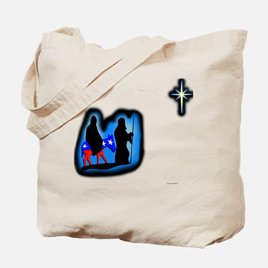 Merry Christmas from the left Tote Bag