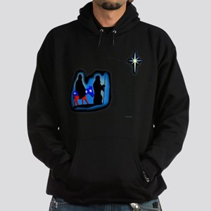 Merry Christmas from the left Hoodie (dark)