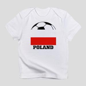 Poland Soccer Creeper Infant T-Shirt