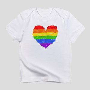 Proud Love Creeper Infant T-Shirt