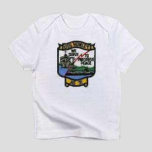 USS HUNLEY Creeper Infant T-Shirt