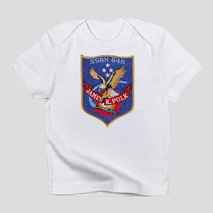USS JAMES K. POLK Creeper Infant T-Shirt