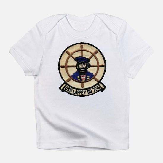 USS LAFFEY Creeper Infant T-Shirt