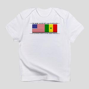 USA - Senegal Creeper Infant T-Shirt