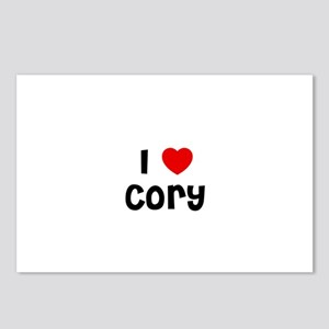 I * Cory Postcards (Package of 8)