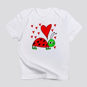 Bug In Love Creeper Infant T-Shirt