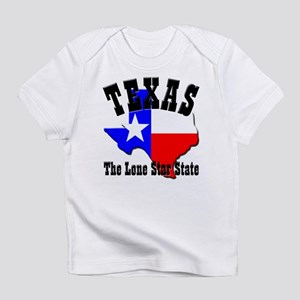 Texas the Lone Star State Creeper Infant T-Shirt