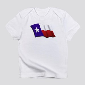 Texas Flag Creeper Infant T-Shirt