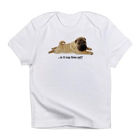 Nap Time Yet? Creeper Infant T-Shirt