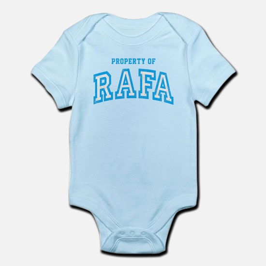 Property of Rafa Infant Bodysuit