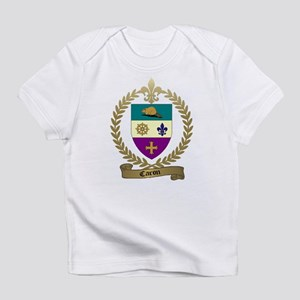CARON Family Crest Creeper Infant T-Shirt