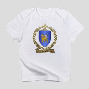 HEBERT Family Crest Creeper Infant T-Shirt