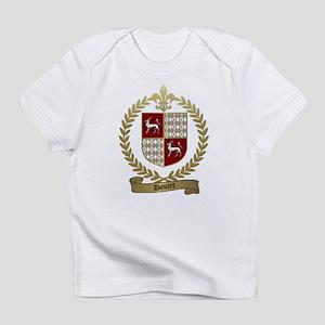 DOUCET Family Crest Creeper Infant T-Shirt