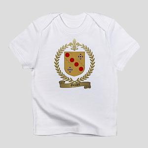 GOULET Family Crest Creeper Infant T-Shirt