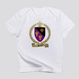 SURETTE Family Crest Creeper Infant T-Shirt
