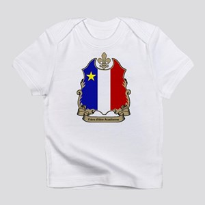 """Fiere"" Acadienne Creeper Infant T-Shirt"