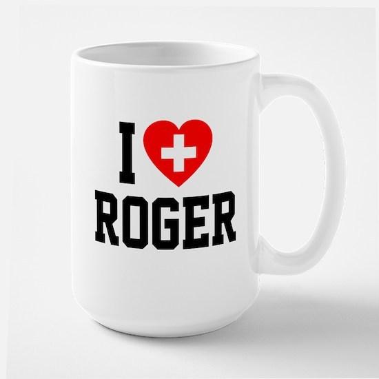 I Love Roger Large Mug