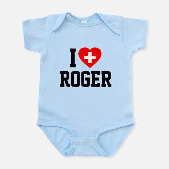 I Love Roger Infant Bodysuit